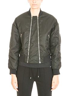 Kenzo-Bomber Elevat Military in nylon nero