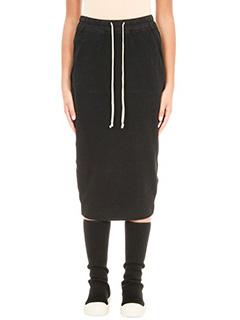 Rick Owens DRKSHDW-Soft Pillar Skirt