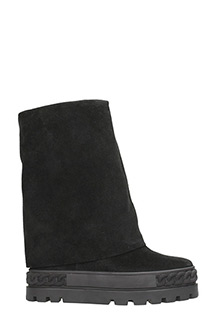Casadei-Sneakers in suede nero