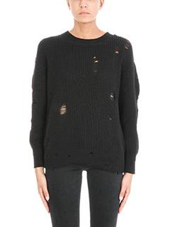 Iro-Maglia Polxa in cotone nero