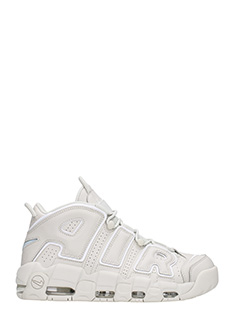 Nike-Sneakers More Uptempo 96 in pelle grigia