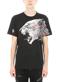 Marcelo Burlon-T-shirt Sham in cotone nero