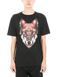 Marcelo Burlon-T-shirt Got in cotone nero