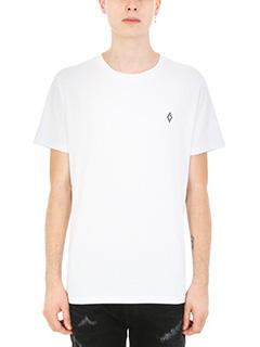 Marcelo Burlon-T-shirt Bai in cotone bianco