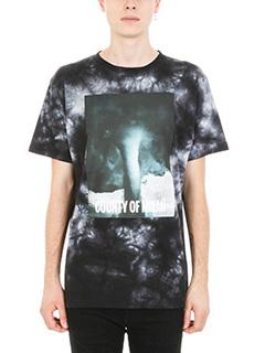Marcelo Burlon-T-shirt Nepen in cotone multicolor
