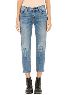 Levi/'s-Jeans 1967 Customized 505 in denim blue
