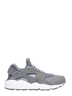 Nike-Sneakers Huarache run tessuto grigio