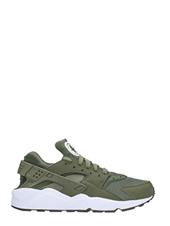 Nike-Sneakers Huarache run tessuto verde