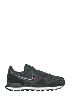 Nike-Sneakers Internationalist in tessuto nero