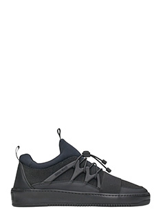 Thoms Nicoll-Sneakers in tessuto nero