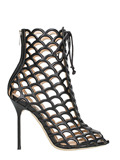 Sergio Rossi-Cage ankle boots
