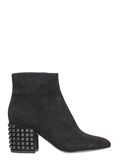 Kendall + Kylie-Tronchetti Blythe in suede nero
