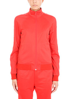 Givenchy-Felpa Bomber in cotone rosso