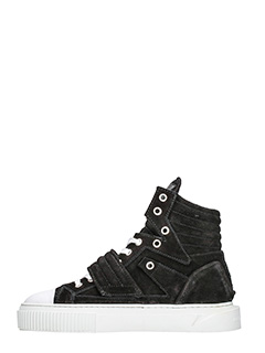 ... Gienchi SNEAKERS HYYPNOS IN SUEDE NERO 3 ...