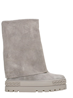 Casadei-Sneakers in suede grigio