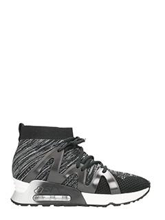Ash-Sneakers Lianna in tessuto nero grigio