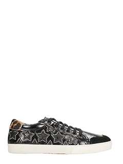 Ash-Sneakers Majestic Bis Star in vernice nera