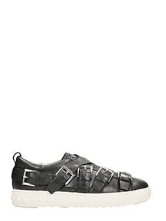 Ash-Sneakers Premium in pelle nera