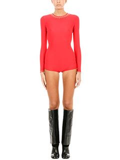 Maison Margiela-Studded bodysuit