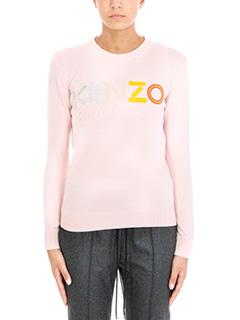 Kenzo-Maglia in lana rosa