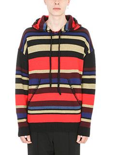 Laneus-Pull in lana multicolor