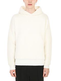 Laneus-Maglia in lana bianca