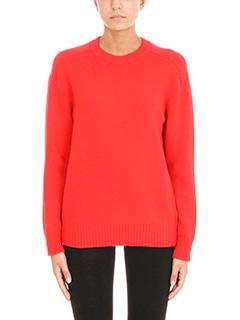 Laneus-Maglia in lana rossa
