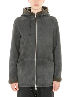 Low Brand-Giubbino Kobayashi in lana grigia