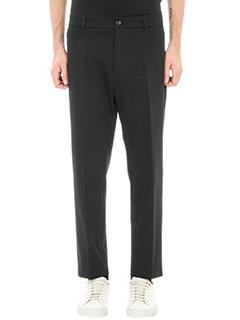Low Brand-pantalone T9.1 lux in cotone nero