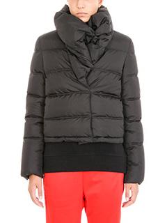 Givenchy-Piumino corto in nylon nero