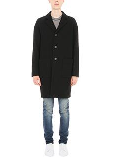 Mauro Grifoni-Cappotto in lana nera