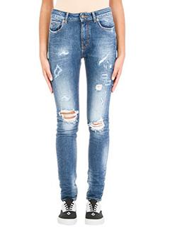 Marcelo Burlon-Jeans Gan Skinny in denim blue