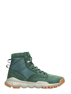 Nike-Sneakers SFB 6 in camoscio verde