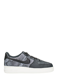 Nike-Sneakers Air Force 1 07 LV8 in pelle nera