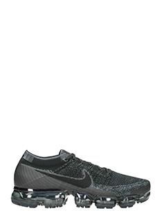 Nike-Sneakers Vapormax Flyknit in tessuto nero