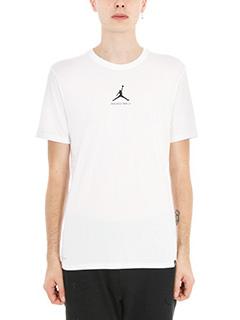 Nike-t-shirt DF 23-7 in cotone bianco
