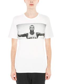 Nike-t-shirt Wings tee in cotone bianco