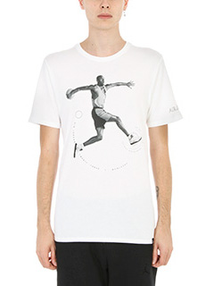 Nike-t-shirt AJ 5 TEE in cotone bianco
