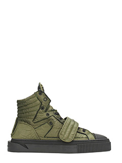 Gienchi-sneakers Hypnos in tessuto verde