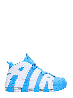 Nike-Sneakers More Uptempo 96 in pelleBlue University