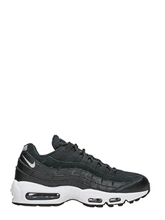 Nike-Sneakers Air max 95prm in pelle nera