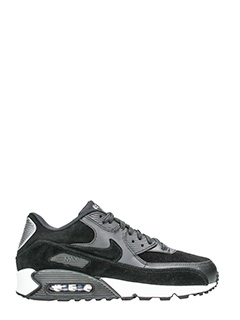 Nike-Sneakers Air max 90 prem in camoscio nero