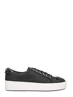 Michael Kors-Sneakers Poppy in glitter nero