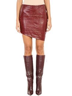 Magda Butrym-Santa Maria Leather Skirt