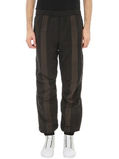 Maharishi-Pantalone in tessuto tecnico nero