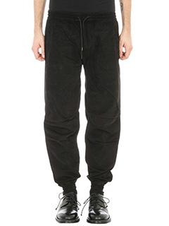Maharishi-Pantalone in cotone nero