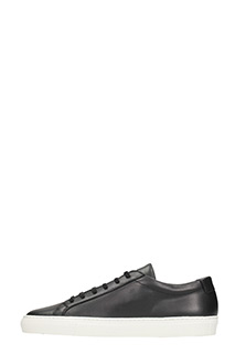 ... Common Projects SNEAKERS ORIGINAL ACHILLES LOW IN PELLE NERA 3 ...