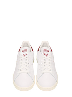 ... Adidas SNEAKERS STAN SMITH IN PELLE BIANCA 4 ...