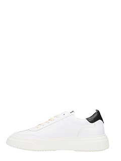 ... Philippe Model SNEAKERS TEMPLE IN PELLE BIANCA 3 ...