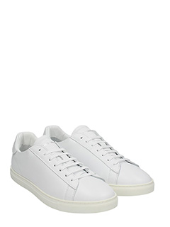 ... Dsquared 2 SNEAKERS NEW TENNIS IN PELLE BIANCA 2 ...